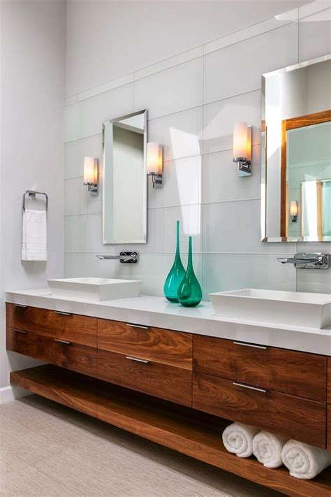 Contemporary Bathroom Cabinet Ideas by 43 Floating Vanities For Stylish Modern Bathrooms Digsdigs