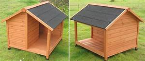 Niche Pour Chien Avec Terrasse : niche pour chien avec terrasse belle 100 cm oogarden france ~ Dailycaller-alerts.com Idées de Décoration