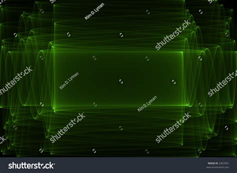 Black Abstract Neon Green by Neon Green Abstract With Copyspace On Black Background