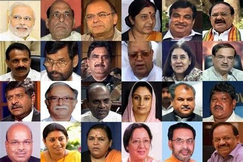 List Of Current Cabinet Ministers by Complete List Narendra Modi S Cabinet Ministers