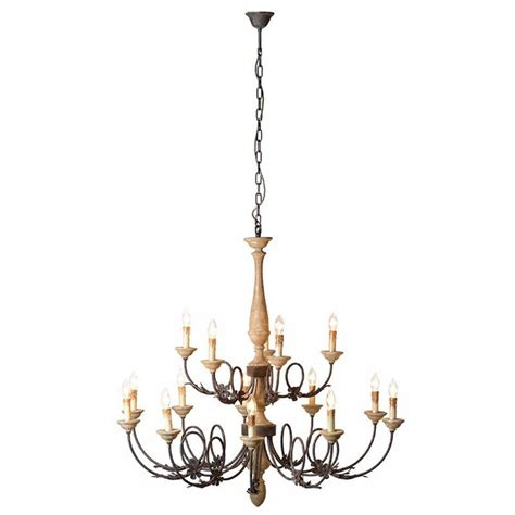 rustic wood chandelier 12 arm rustic turned wooden chandelier with chain