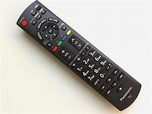 Genuine Panasonic Lcd Tv Remote Control N2qayb000570