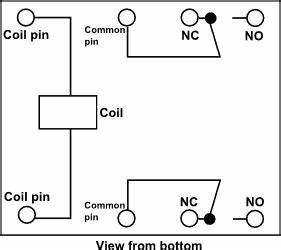 Identify Terminal Pins Of A Relay Without Reference To