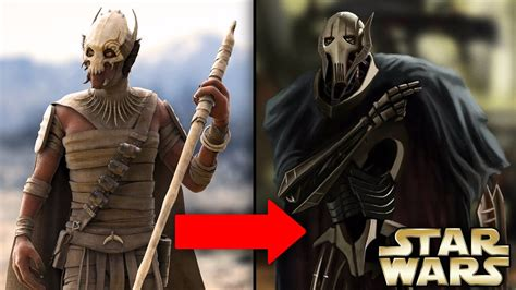 How General Grievous Became A Cyborg And His Past Life