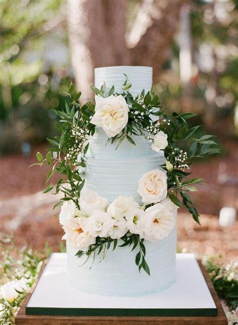 picture   romantic light blue wedding cake