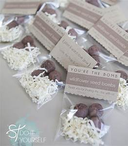 diy seed bomb wedding favors something turquoise With how to make wedding favor tags