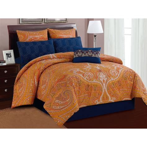 u s polo assn shanti paisley bedding set queen 7