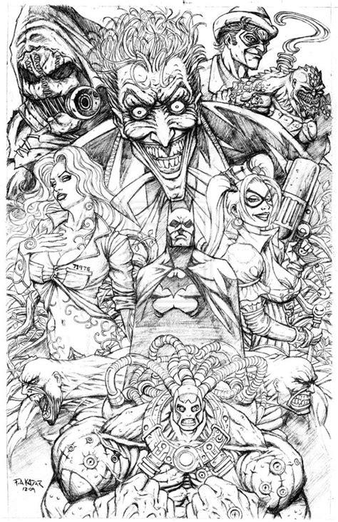 Batman Arkham Asylum Coloring Pages - Democraciaejustica
