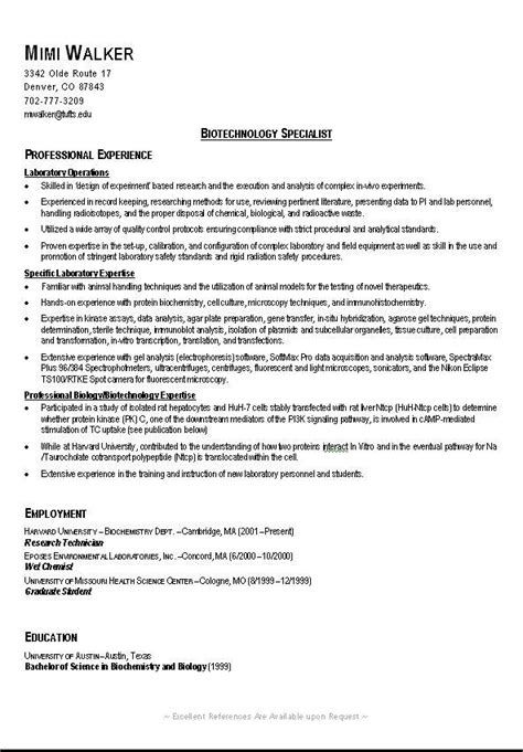 Sle Of Curriculum Vitae For College Students by College Resume 10 Resume Cv