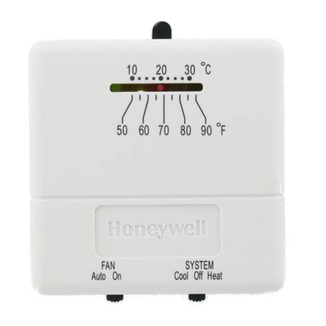 Heat Cool Thermostat Wiring by Honeywell Thermostats Heating Thermostats Cooling