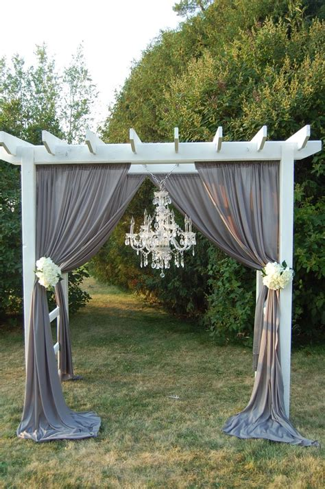 25 best ideas about wedding pergola wedding decorations outdoor