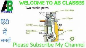 Two Stroke Petrol Engine Diagram Youtube Di 2020