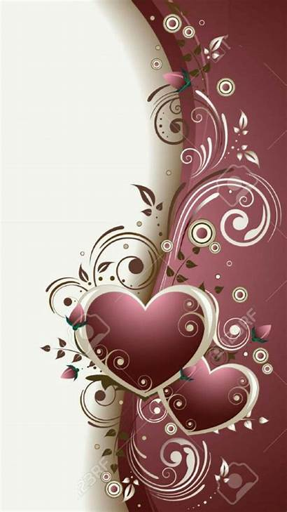 Heart Iphone Diamond Cellphone Hearts Wallpapers Valentines