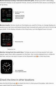 Apple A1858 Apple Watch User Manual Apple Watch User Guide
