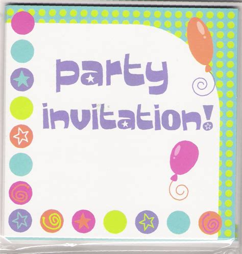 invitation party templates 15 party invitations excel pdf formats
