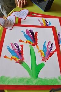 Bricolage Fête Des Pères Maternelle : bouquet de mains pour la rentr e mothers day ~ Melissatoandfro.com Idées de Décoration
