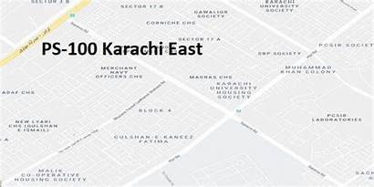 Karachi Ps Map Election East Result Google