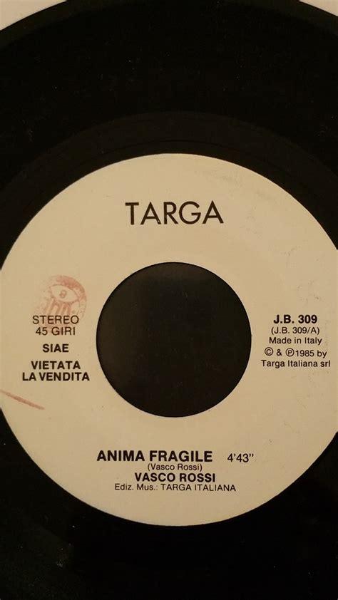 vasco anima fragile vasco records lps vinyl and cds musicstack