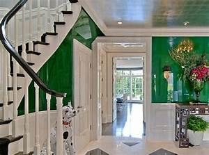 farbgestaltung im flur 25 originelle vorschlage With balkon teppich mit tapeten für flurgestaltung