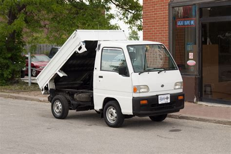 subaru sambar subaru sambar dump truck for sale rightdrive