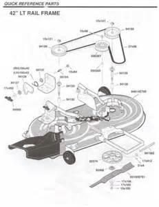 murray mower deck diagram murray deck parts canada