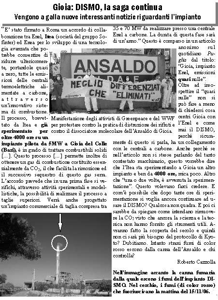 Comune Di Gioia Colle Ufficio Tecnico by Controcorrente Gioia Colle