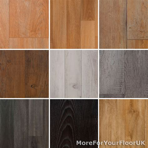 wood plank vinyl flooring roll quality lino anti slip kitchen bathroom 2m 3m 4m ebay