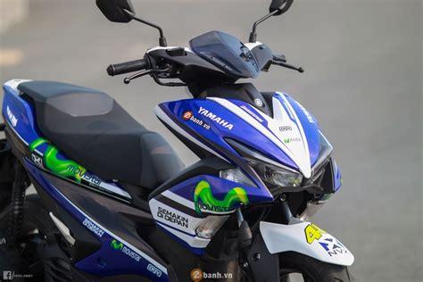 Modifikasi Yamaha Aerox 2017 by Yamaha Aerox Motogp Movistar 2017 Modif Warungasep