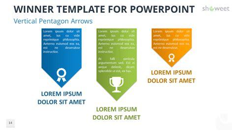 winner templates  powerpoint