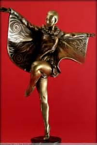 Objet Art Deco : danseuse papillon art d co xxe si cle ~ Teatrodelosmanantiales.com Idées de Décoration