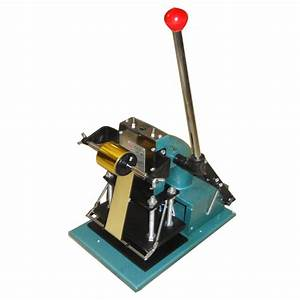 hot foil stamping machine emboss pvc id card letter press With letter stamping press