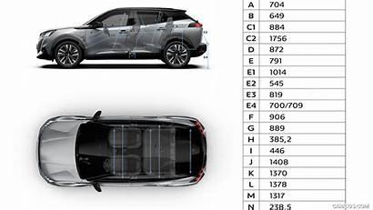 2008 Peugeot Dimensions Caricos