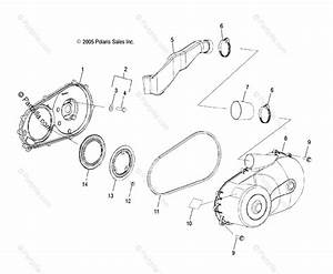 Polaris Side By Side 2006 Oem Parts Diagram For Clutch