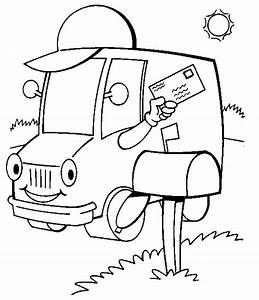 Transportation Coloring Pages For Kids - ColoringPagesABC.com