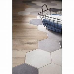 Carrelage Mural Hexagonal : carrelage sol et mur gris ciment effet b ton time x cm tile pinterest tiles ~ Carolinahurricanesstore.com Idées de Décoration