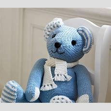 Strickanleitung Teddy Aus Feiner Merinowolle  Puppen Und