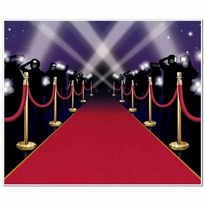 Carpet Hollywood Decoration Night Wall Awards Mural