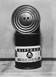 A Canister Of Zyklon B Found In The Dachau Concentration