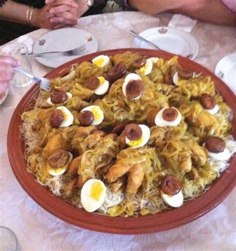 maroc cuisine traditional moroccan food