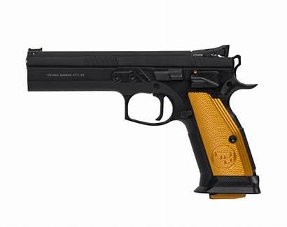 Cz 75 Orange Tactical Sport Usa