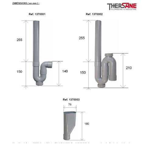 siphon pvc vertical machine 224 laver 216 40mm