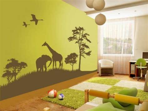 chambre de bébé jungle decoration chambre de bebe jungle visuel 8