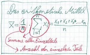 Notenskala Berechnen : mittelwert berechnen ~ Themetempest.com Abrechnung