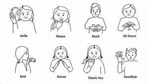 basic classroom makaton signs sign language pinterest With sign language documents