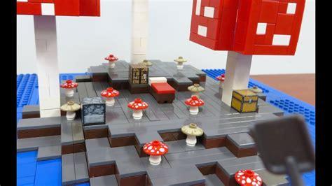 lego minecraft mushroom island youtube