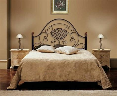 fer forg chambre coucher decoration chambre lit fer forge