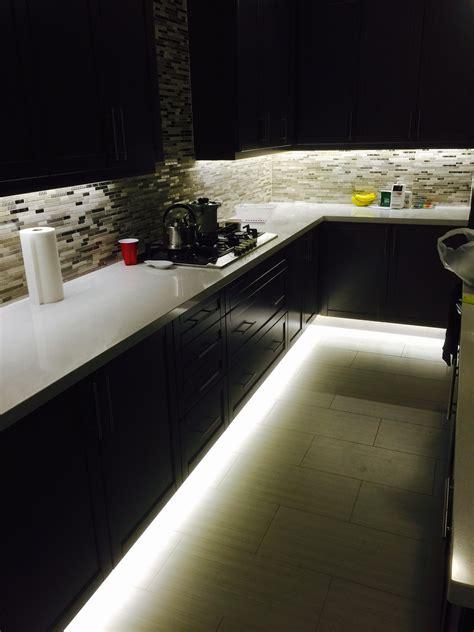 led strip lights under cabinet under cabinet and footwell led strip lighting also hidden