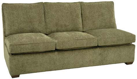 Armless Sleeper Sofa by Carolina Chair Sofa Carolina Chair Custom Sectional Sofa