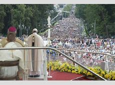 The humble speak for God, Pope says at Czestochowa