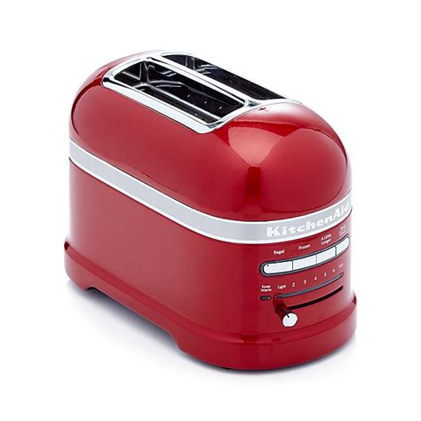 kitchen aid pro line toaster kitchenaid pro line 2 slice toaster crate and barrel